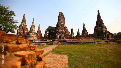 Dolly: Wat Chaiwatthanaram Temple at Ayutthaya Historical Park