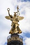 Fototapety Goldelse auf der Siegessäule Berlin