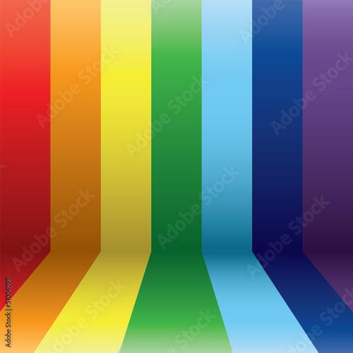vertical rainbow