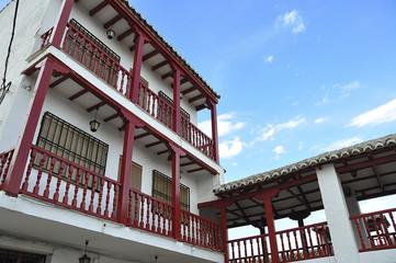 Balcones rojos