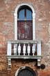 alte Hausfassade in Venedig