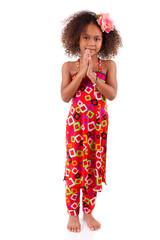 Cute young African Asian girl - Asian children