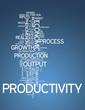 "Word Cloud ""Productivity"""