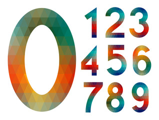 Mosaic number set