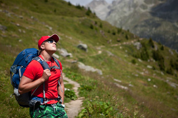 Switzerland Hiker