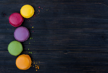 Macaroons background
