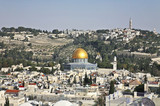 Jerusalem. The old city, the mosque of the Rock (Omar)