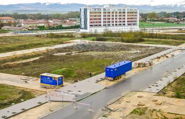 Desastre urbanístico debido a la crisis en España