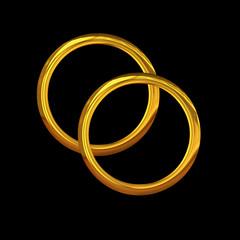 Zwei Goldringe