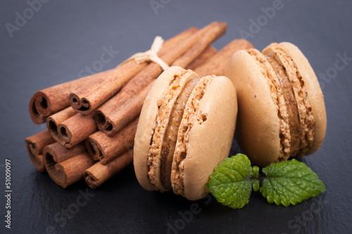 Macarons, Zimtstangen