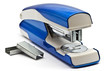 Blue stapling machine
