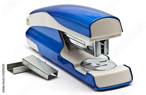 Blue stapling machine