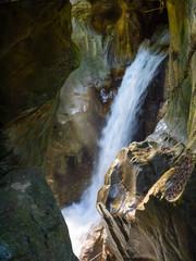 cascata, Orrido di bellano, flusso d'acqua