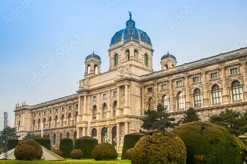 Kunsthistorisches (Fine Art) Museum in Vienna, Austria.