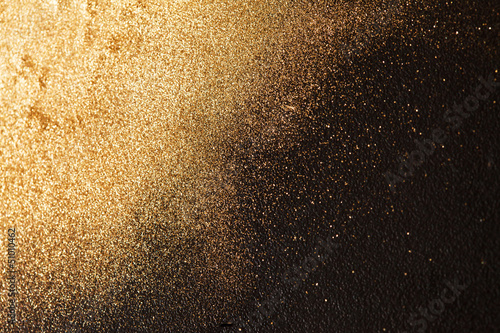 Poster Metal gold background
