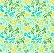 Seamless texture abstraction spring pattern