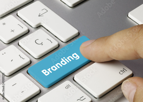 Branding keyboard key