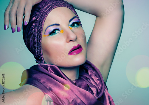 colorful make up / redcap 03_2
