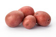 Red Potatoes isolated