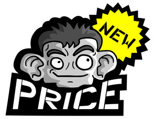 Face and new price