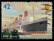 Britain RMS Queen Mary Liner Postage Stamp - 51014626