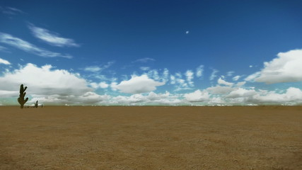 Desert Time Lapse Clouds