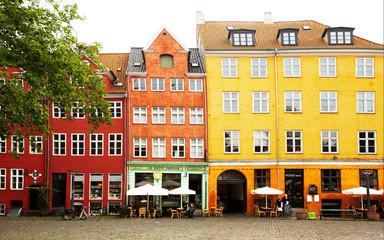 Square in Copenhagen.