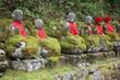Nikko, Japan - jizo statues in Kanmangafuchi gorge