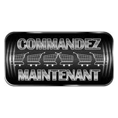 'Commandez Maintenant' - 'Order Now' black web button in french