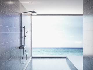 Bathroom, Ocean View