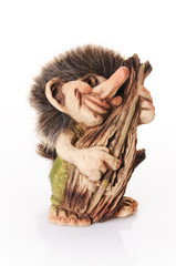 Norweski troll z kontrabasem
