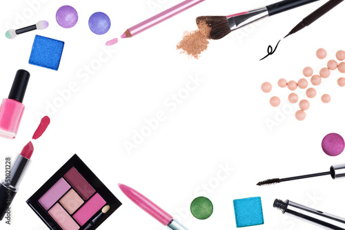 Cosmetics frame