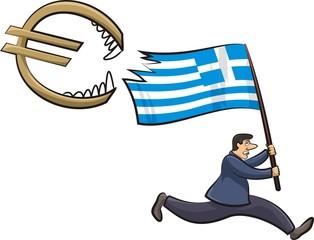 greek crisis - threat to the euro zone