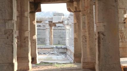 India. Krishna Temple in Hampi.