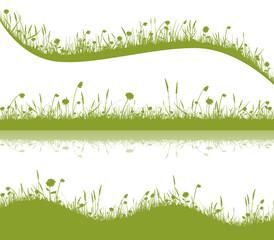Grüne Wiese Set