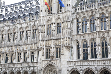Grand place - famous square in Brussels