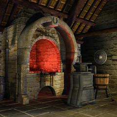 Średniowieczna kuźnia