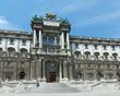 Hofburg Palace (Vienna, Austria).
