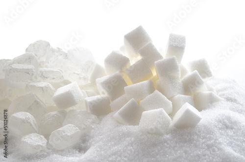 Verschiedene Zuckersorten
