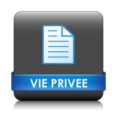 Bouton Web VIE PRIVEE (informations personnelles sécurité légal)