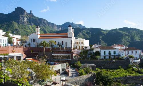 Leinwandbild Motiv Tejeda, Gran Canaria, Canary Islands, Spain