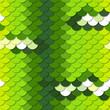 Chondropython viridis. Seamless vector pattern.