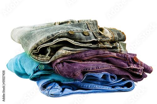 vecchi jeans delavè