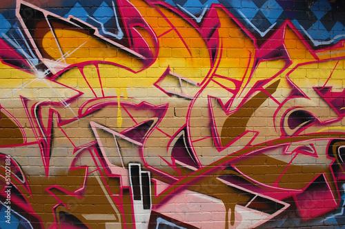 Graffiti Street Art Wall