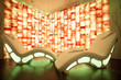 salt room for relaxation and chromotherapy