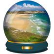 sfera di cristallo vacanze mare