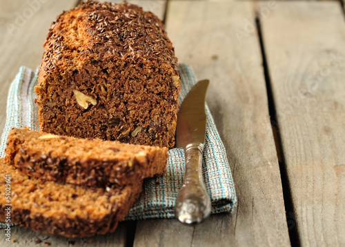 Whole-Grain Loaf Cake