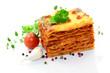 Lasagne, Knoblauch