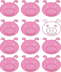 Piglet background
