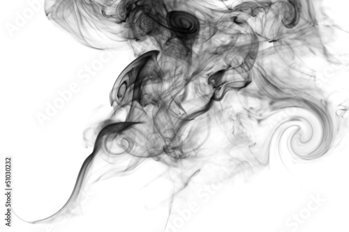 canvas print picture smoke